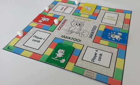 Board game prototype