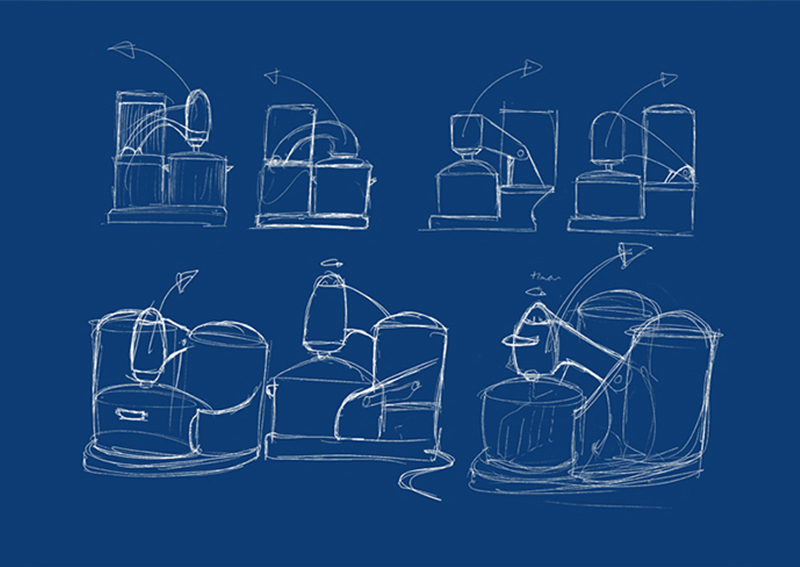Pap cooker concept sketches