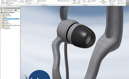 Expanding Earphones CAD