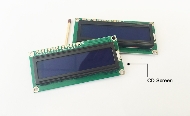 LCD display prototype